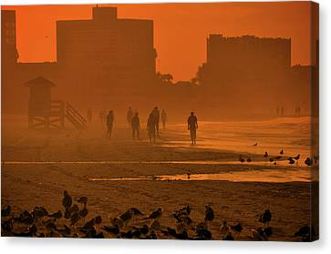 Heat Waves Canvas Print by John Knapko