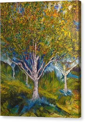 Heather Farms Treescape Canvas Print