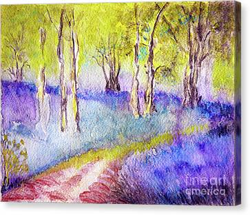 Heather Glade Canvas Print by Jasna Dragun