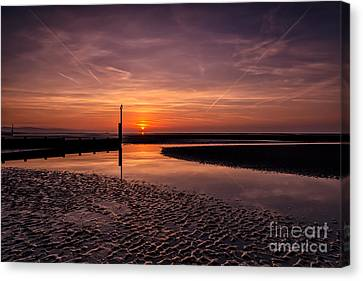 Heaven And Earth Canvas Print by Adrian Evans