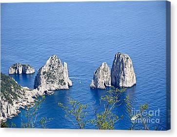 Heaven On Capri Canvas Print