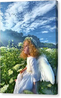 Canvas Print featuring the photograph Heaven Sent by Phil Koch