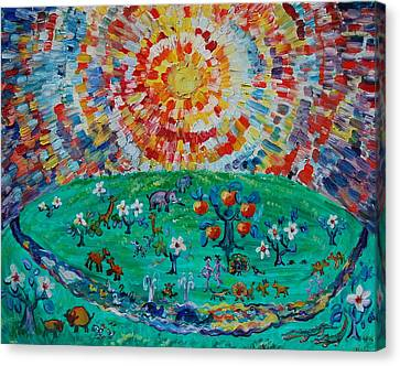 Heaven Under Sun Canvas Print