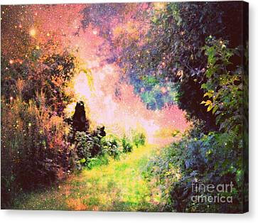 Heavenly Path Canvas Print by Johari Smith
