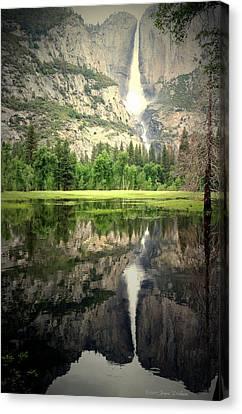 Heavenly Reflections At Yosemite Canvas Print