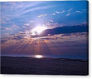 Heavenly Skies Canvas Print by Brian Wright