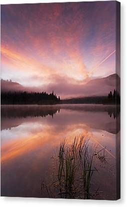 Heavenly Skies Canvas Print by Mike  Dawson