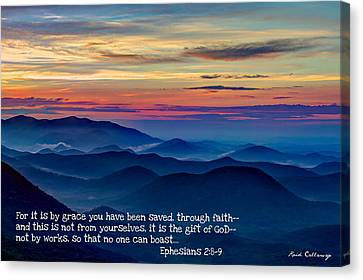 Heavenly View By Faith Pretty Place Chapel Canvas Print