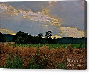 Heaven's Ever Loving Light Canvas Print