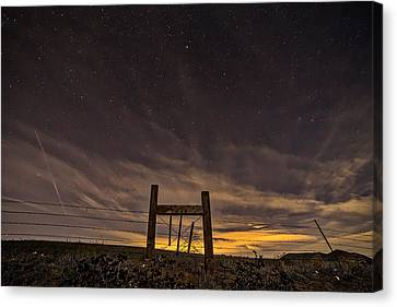 Heaven's Gate Canvas Print by Peter Tellone