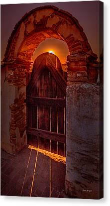 Heaven's Gate Canvas Print by Tim Bryan