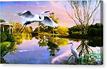 Heavens Lake Canvas Print