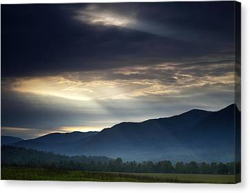 Storm Canvas Print - Heaven's Light by Andrew Soundarajan