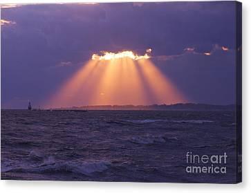 Heaven's Light Canvas Print by Cindy Lee Longhini