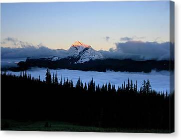 Heaven's Peak Canvas Print by Dave Hampton Photography