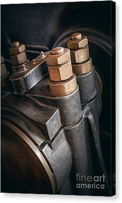 Heavy Industry Detail Canvas Print by Carlos Caetano