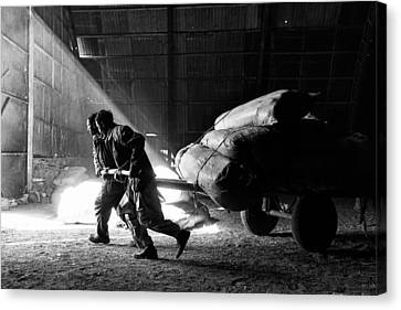 Heavy Load Canvas Print by Damon Lynch