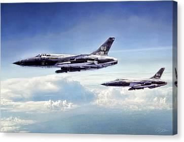 Heavy Metal Thunder Canvas Print