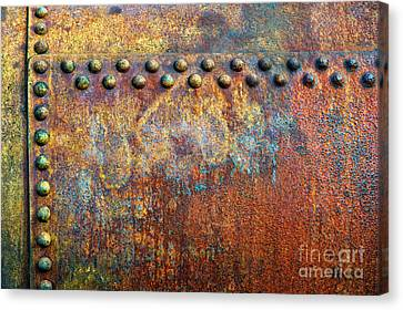 Heavy Metal Canvas Print by Tim Gainey