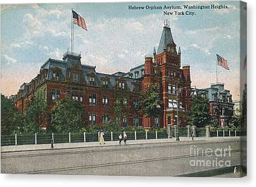 Canvas Print featuring the photograph Hebrew Orphan Asylum by Cole Thompson