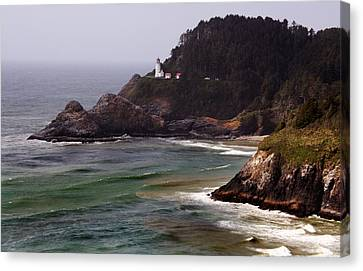 Heceta Head Lighthouse Canvas Print by Joanne Coyle