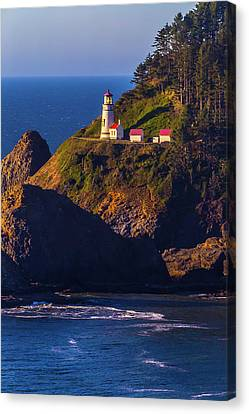 Heceta Head Oregon Lighthouse Canvas Print