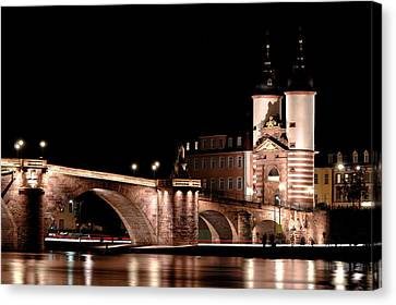 Ruin Canvas Print - Heidelberg Bridge by Francesco Emanuele Carucci