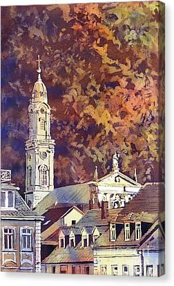 Heidelberg Evening Canvas Print by Ryan Fox