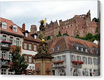 Heidelberg, Germany Canvas Print by Elzbieta Fazel