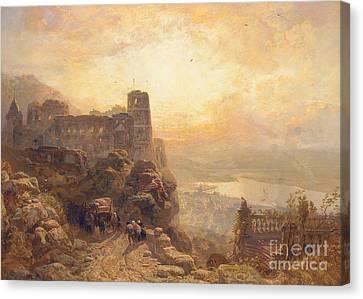 Heidelberg Canvas Print by James Webb