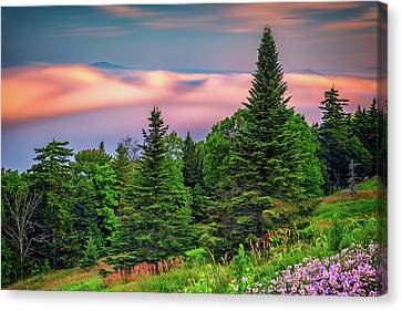 Canvas Print featuring the photograph Height Of Land by Rick Berk
