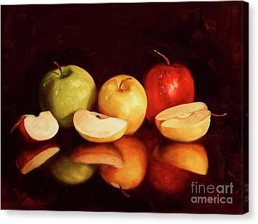 Hein Apples Canvas Print by Laurie Hein