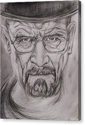 Heisenberg Canvas Print by Hannah Curran