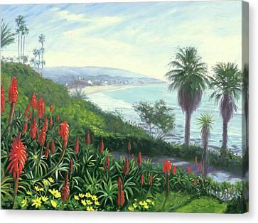 Heisler Park Near Las Brisas Canvas Print