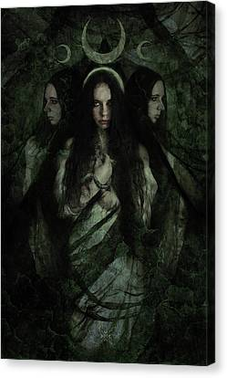 Hekate Canvas Print by Cambion Art