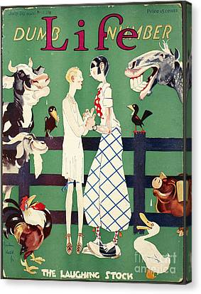 Held: Magazine Cover, 1926 Canvas Print by Granger