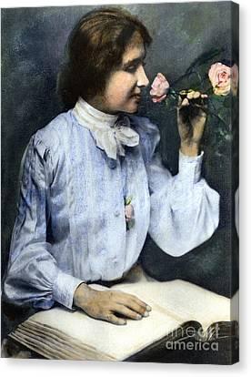 Helen Adams Keller Canvas Print by Granger