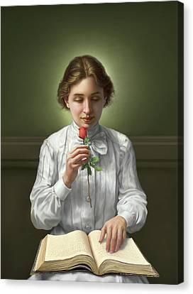 Workers Canvas Print - Helen Keller by Mark Fredrickson