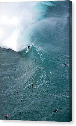 Tubed From Above. Canvas Print