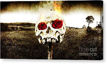 Hellfire Of Love Canvas Print by Jorgo Photography - Wall Art Gallery
