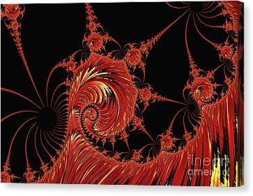 Hellfire Canvas Print by Steve Purnell