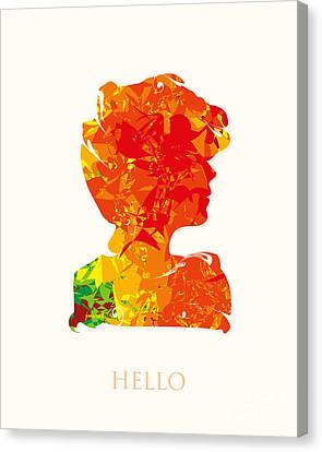 Cannes Hello M26 Canvas Print by Johannes Murat