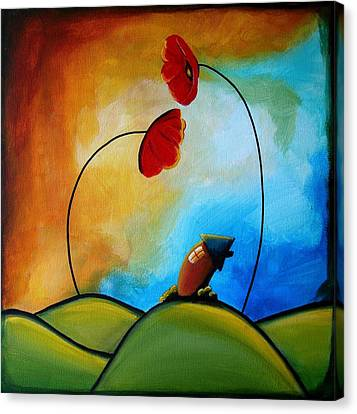 Surreal Landscape Canvas Print - Hello by Cindy Thornton