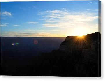 Hello Grand Canyon Canvas Print