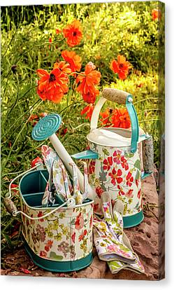 Canvas Print featuring the photograph Hello Summer by Teri Virbickis