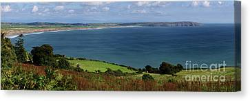 Hells Mouth Canvas Print by Steev Stamford