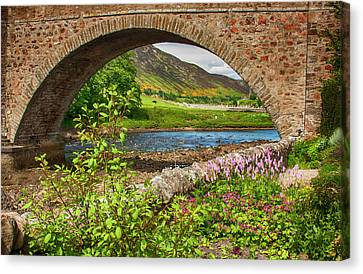 Helmsdale Bridge Canvas Print by Margie Wildblood