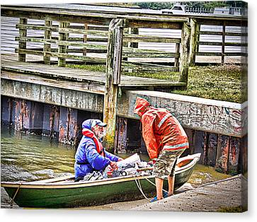 Helping Hand Canvas Print by Marilyn Holkham