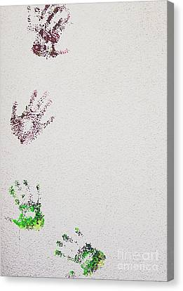 Helping Hands Canvas Print by Mellissa Ray