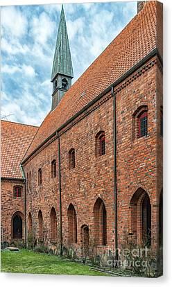 Canvas Print featuring the photograph Helsingor Saint Mary Church by Antony McAulay